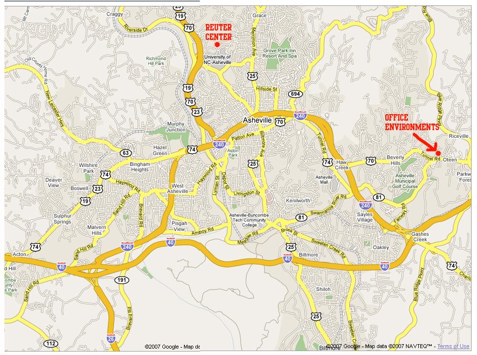 Unca Campus Map 50887 | ENEWS